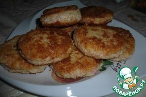 Рецепт Крабово-сырные котлетки