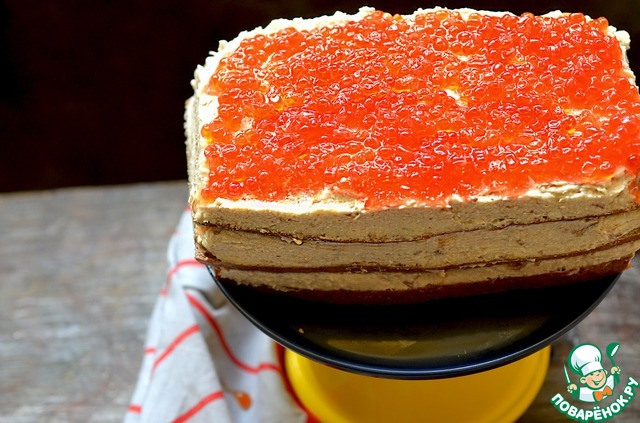 Рецепт селедочный торт с фото