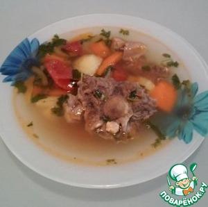 Рецепт Шурпа из баранины