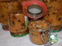 Солянка с грибами на зиму ингредиенты