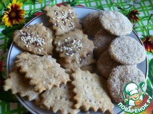 Готовим Крекеры деревенские домашний рецепт с фото пошагово