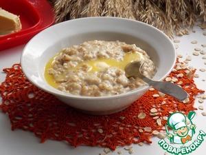 Рецепт Карамельная геркулесовая каша