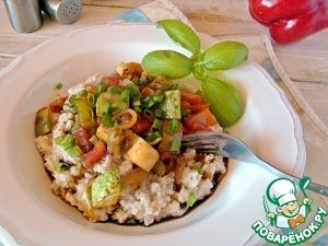 Овсяная каша с овощами