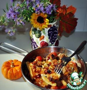Рецепт Мясные фрикадельки под апельсиново-клюквенным соусом
