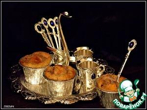 Рецепт Персиковый десерт с хлопьями