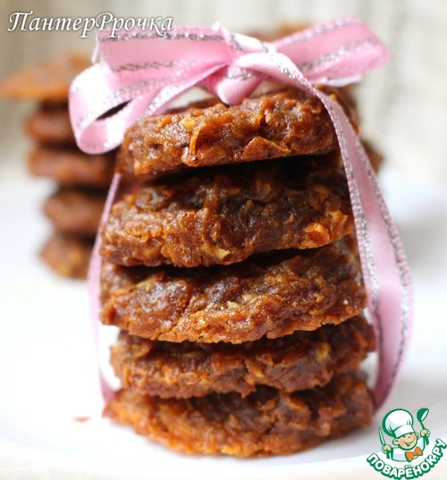 Печенье морковное постное с изюмом рецепт