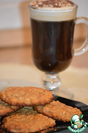 Рецепт Злаковое печенье с кленовым сиропом и яблочным соусом