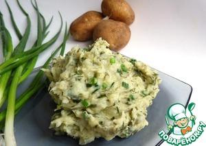 Рецепт Картофельное пюре по ирландски (или Колкэннон)