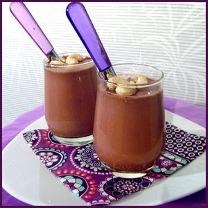 Рецепт Йогурт шоколадный с орешками
