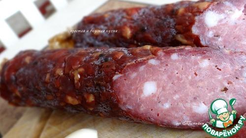 колбаски домашние рецепт с фото в духовке