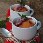 Пряные томатные кексики с красной смородиной