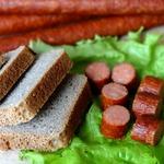 Колбаски закусочные по-охотничьи с паприкой