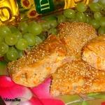 Фаршированный лаваш с курицей и виноградом Осенняя изюминка