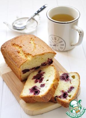 Рецепт Творожный кекс с вишней и брусникой D'arbo