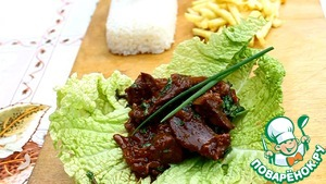 Рецепт Пулькоги-мясо по-корейски