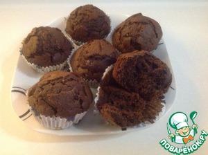 Готовим Кексы шоколадные вкусный пошаговый рецепт с фотографиями