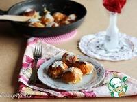 Морковные шарики, тушенные в сметанном соусе ингредиенты