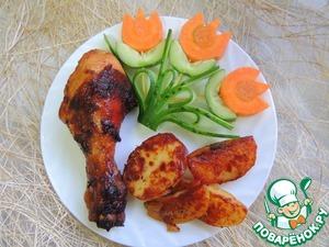 Рецепт Курица в пикантном соусе
