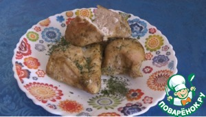 Рецепт Пряное куриное филе в меду