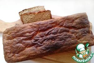 Рецепт Хлеб ржано-пшеничный на кефире