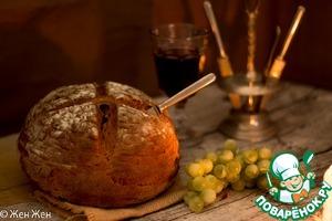 Рецепт Темный хлеб на пиве с тмином и черносливом