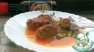 Рецепт Мини-котлетки в пряном томатном соусе