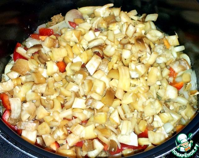 Фасоль мясом пошаговый рецепт фото