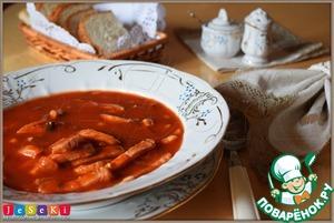 """Рецепт Томатный суп """"Самый быстрый"""""""