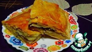 Рецепт Пирог с рыбными консервами