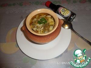 Рецепт Курочка с овощами в горшочке