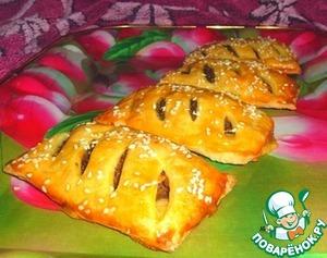 Рецепт Имбирно-печеночные слойки