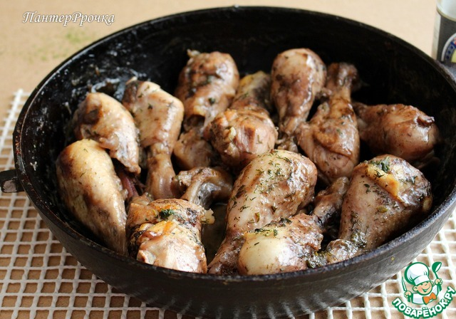 куриные ножки в духовке в кисло сладком соусе