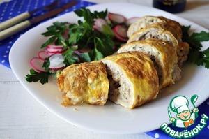 Рецепт Бризоль из свиного фарша