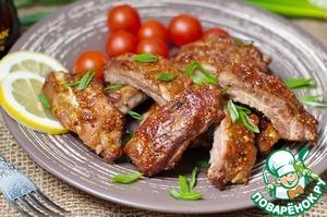 Рецепт Ребрышки барбекю
