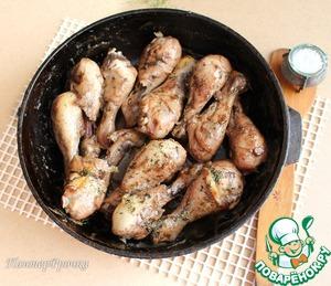 Рецепт Нежнейшие куриные ножки в кисло-сладком соусе