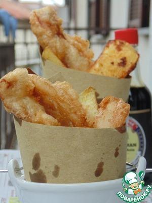 Рецепт Рыба и чипсы