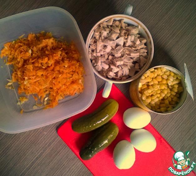 Сырный салат в тарталетках рецепты