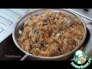 Рецепт Солянка грибная постная