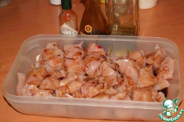 Куриное филе с овощами пошаговый рецепт