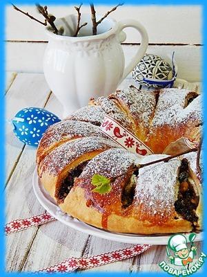 Рецепт Пасхальный хлеб-пирог