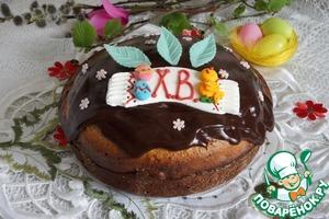 Рецепт Кулич с шоколадом