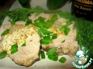 Рецепт Мускатно-имбирная свинина во французском соусе