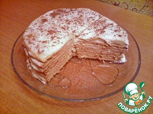 """Рецепт Торт """"Наташа"""""""