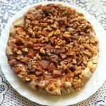 Яблочный пирог из мацовой муки