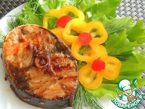 Рецепт Тунец в остро-сладком маринаде