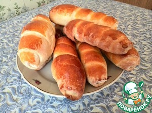 Рецепт Вкусные сосиски в тесте