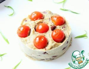 Рецепт Мусс из баклажанов с красной фасолью