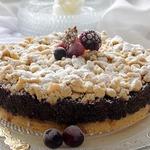 Пирог маково-ягодный