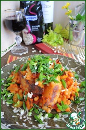 Рецепт Картофельное рагу с белой фасолью