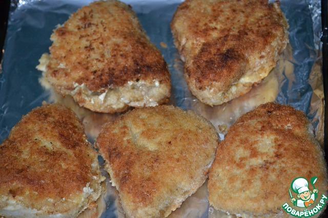 Конверты куриные с сыром рецепт